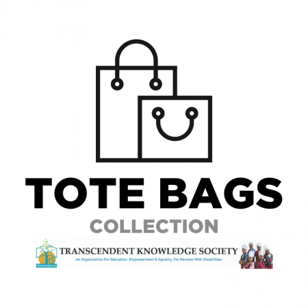 Tote Bags made by specially abled people